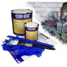 Coo-Var Anti-Graffiti Paint Kit